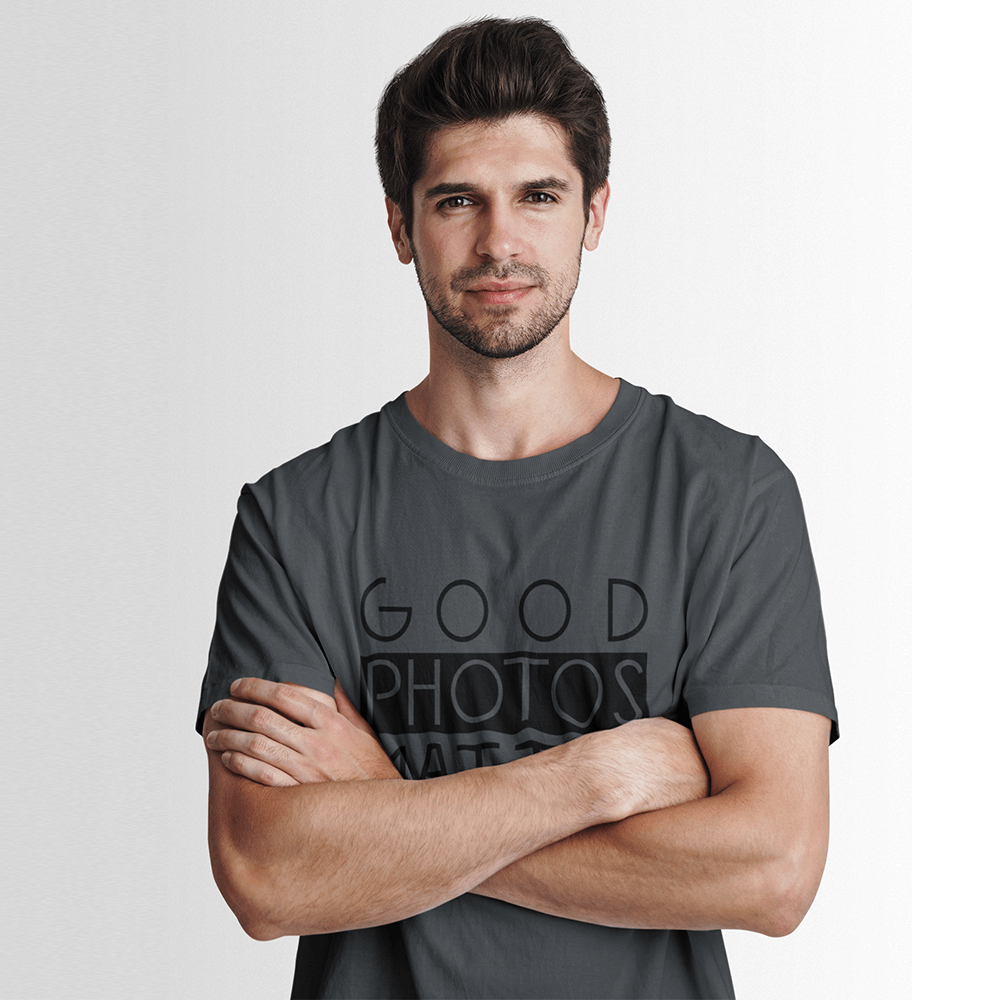 "Bio T-Shirt für Fotografen ""Good Photos Matter"""